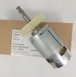 Мотор-редуктор постоянного тока 14,4 V 18V 328333 328639 328361 для экскаватора Hitachi CJ14DL CJ14DS CJ14DM L CJ18DSL CJ18DL CJ18DMR