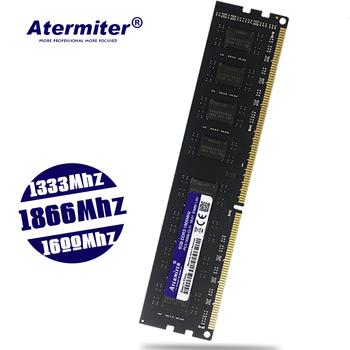 DDR3 8GB 4GB 2GB PC3 1333 1600 1866 1333MHZ 1600MHZ 1866MHZ 12800 14900 2G 4G 8G PC pamięć RAM pamięci moduł komputer stacjonarny tanie i dobre opinie Atermiter CN (pochodzenie) 1333 MHz Pulpit Bez ECC 9-9-9-24 240pin one year Pojedyncze 2GB 4GB 8GB 1 5 V PC3-12800 PC3-10600 PC3-14900