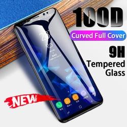Изогнутое полное покрытие закаленное стекло для samsung Galaxy Note 10 9 8 s7 s6 Edge Защитная пленка для экрана для S10 s9 Plus защитное стекло