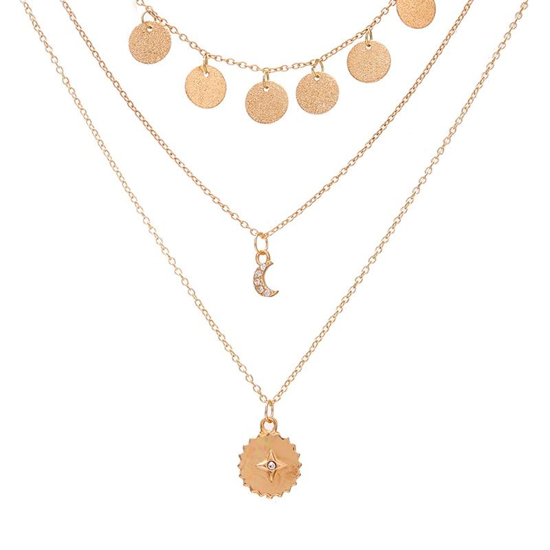 VKME модное жемчужное ожерелье с двойным слоем Love аксессуары Женское Ожерелье Bijoux подарки - Окраска металла: ZL0000891