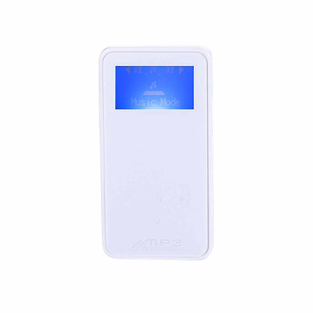 MP3 プレーヤーの microsd カードスロットと FM ラジオポータブル HiFi ロスレス音ハイファイ USB ミニ MP3 音楽プレーヤーの液晶画面サポート 32 ギガバイト