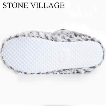 2020 Home Slipper Women Fleece Slippers For Women Indoor Slippers Women Cute Ball Non-slip Indoor Shoes Women Size 36-41 5