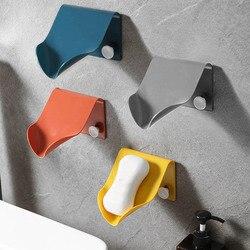 Porte-savon Portable pour salle de bain, vaisselle créative et pratique, montage mural sans couture de haute qualité, vente d'articles ménagers