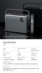 Image 3 - Surround 3d instrumento estéreo entrada eco alto falante de alta fidelidade 60 w monitor karaoke alto falante