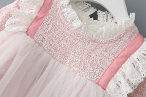 Image 3 - Baby Girls Dresses Lace Christmas Dress Wedding Party Ball Gown Children Clothing Kids Dresses For Girls 0 2Y