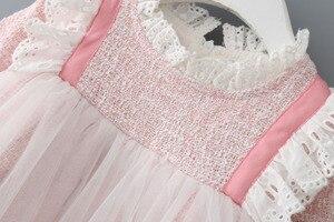 Image 3 - Bebek Kız Elbise Dantel Noel Elbise Düğün Parti Balo Çocuk Giyim Çocuklar Kızlar Için Elbiseler 0 2Y