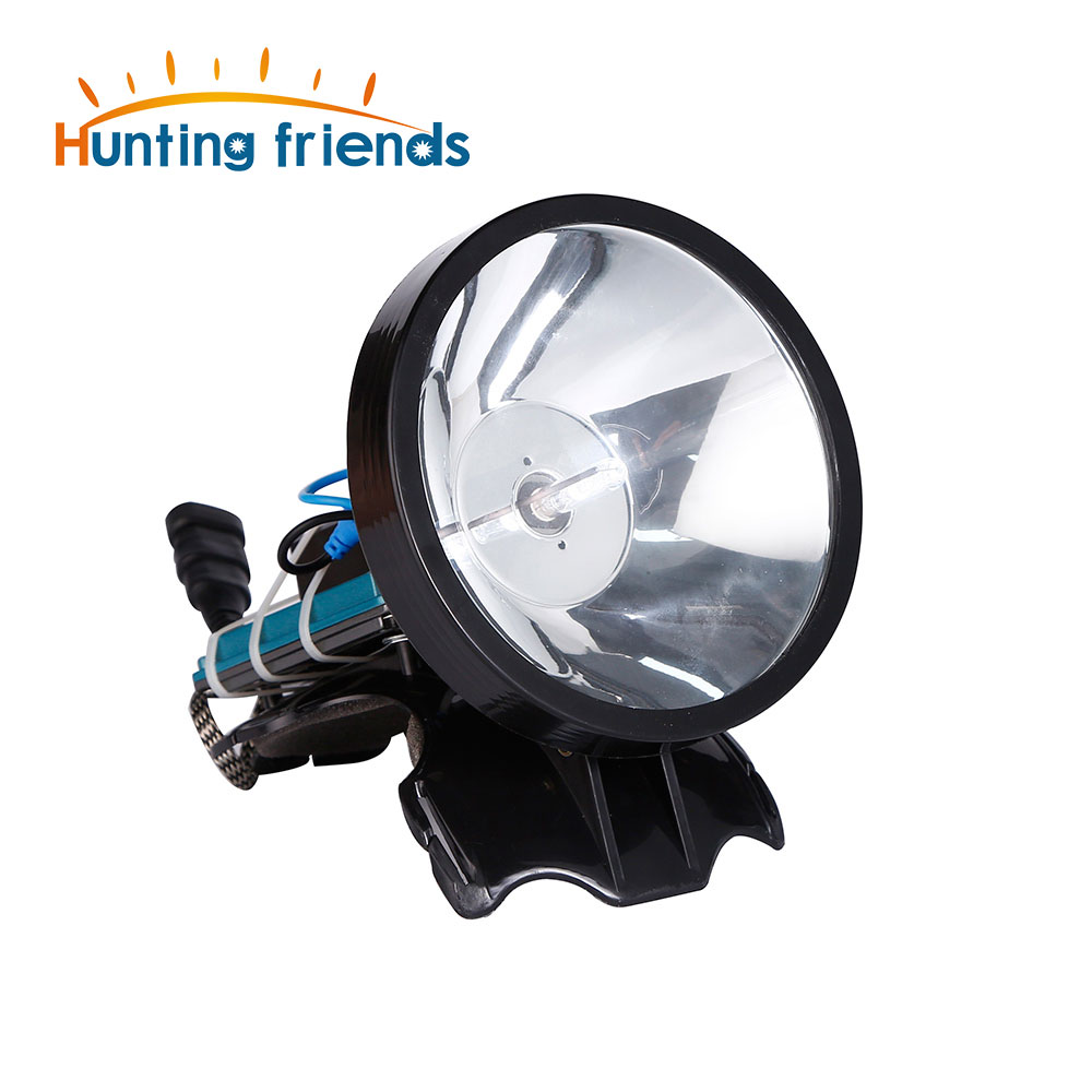 Superbright 12V Headlamp 100W Xenon Headlight External DC Power Fast Starting Hunting Fishing Lamp Searchlight