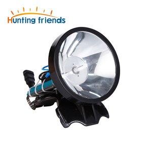 Image 1 - Superbright 12V reflektor 100W Xenon reflektor zewnętrzny DC Power szybki rozruch polowanie lampa wędkarska reflektor