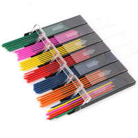 Cute Mechanical Pencil 2.0 mm Automatic Pencil Color Lead Refill for Writing Drawing School Supplies Stationery