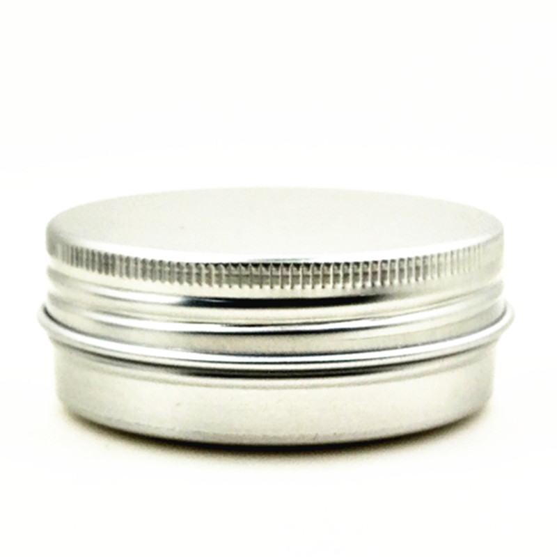20ml/g Aluminium Balm Tins Pot,comestic Containers With Screw Thread ,Lip Gloss Candle ,Craft Nail Art