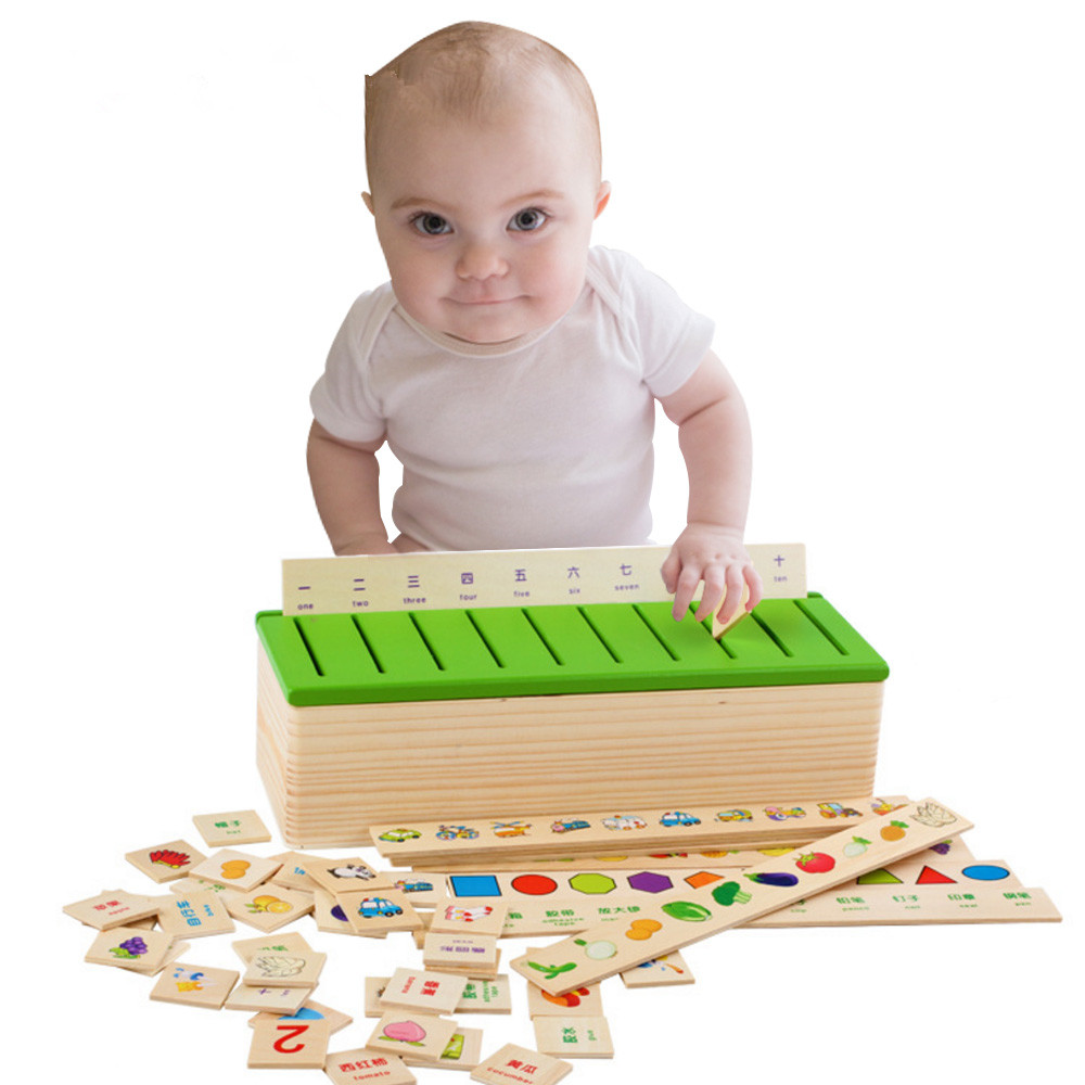 Wooden Puzzles Early Educational Toys For Children Intelligence Learning Games