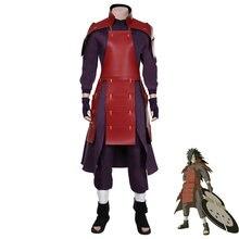 Высококачественный костюм персонажа из аниме «Учиха Мадара»