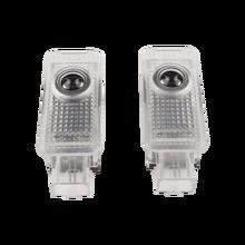 Для Audi TT 8J RS Sline A1 A3 A4 A5 A7 A8 R8 Q3 Q5 SQ5 8R Q7 8P 8V C5 C6 C7 4L D3 D4 2 предмета двери автомобиля светильник Беспроводной Предупреждение лампа