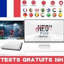 Устойчивый NEO TV PRO NEO X Арабский ip французский Бельгия Канада Нео ТВ pro Марокко для Smart tv Android Box m3u тест
