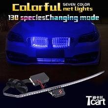 Tcart grille D'admission dynamique led RVB 7 lumières De Couleur Pour bmw M F22 F46 F10 F11 G30 G31 E63 E65 F01 F02 x1 f48 X3 accessoires