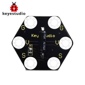 keyestudio Microbit Honeycomb Vibration Module  & Tilt Module for BBC Micro Bit недорого