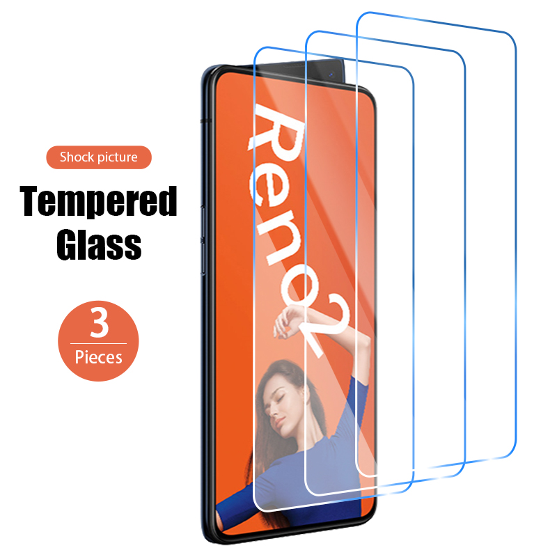 1/2/3pcs Screen Protector for OPPO Reno4 5G Reno3 Pro Film Cell Phone 9H Hard Glass Tempered Glass for OPPO Reno2 F Reno Ace A Z 1