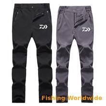 DAIWA DAWA штаны рыболовные летние уличные быстросохнущие эластичные Мужская рыболовная одежда водонепроницаемая дышащая альпинистская одежда для рыбалки