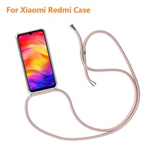Strap Cord Chain Phone Cover for Xiaomi Redmi Note