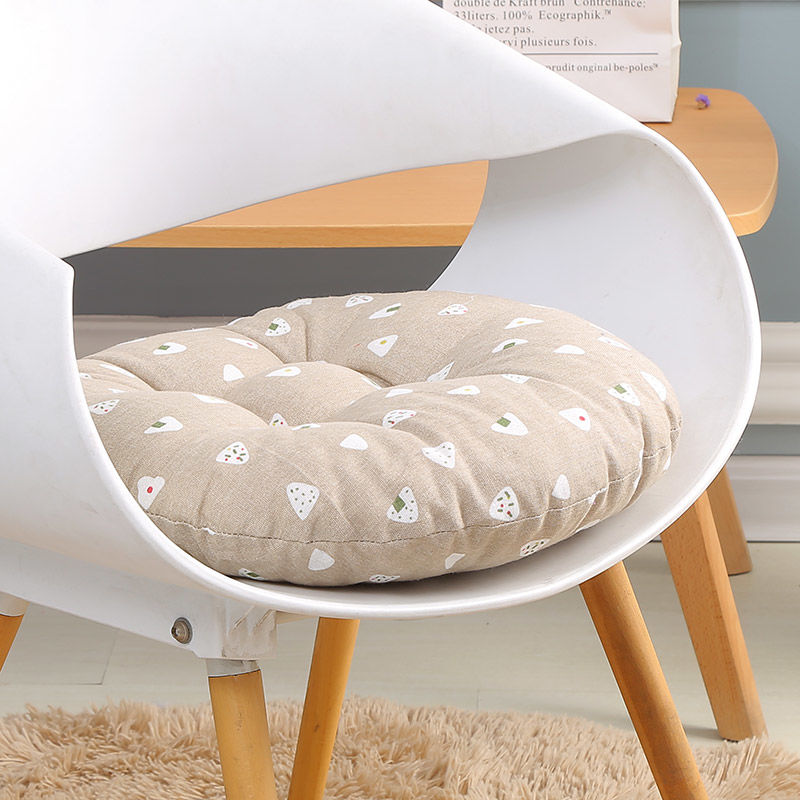 Round Chair Cushion Four Seasons Seat Cushion Home Decor Chair Cushion Tatami Mat  Ground Mat Cat Pillow Fart Cotton Mat Car Pad