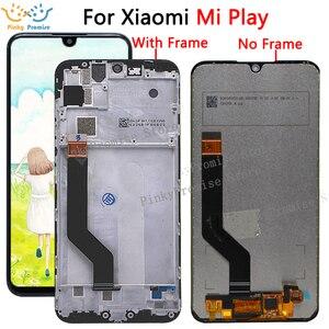 """Image 1 - Originale Per 5.84 """"Xiao mi gioco LCD Display Touch Screen Digitizer Assembly Per Xiao mi mi gioco LCD Con telaio Sostituire M1901F9E"""