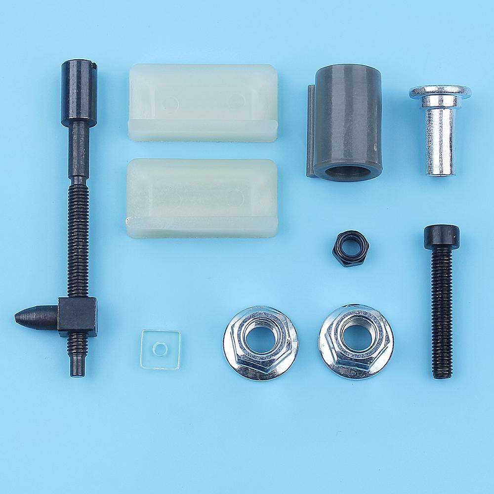 Chain Bar Adjuster Catcher Nuts Kit For Husqvarna 394 395 394XP 395XP Chainsaw 503467701 Tensioner Screw Replacement Spare Parts