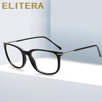 ELITERA Flash 2020 New Brand Fashion Design Square Glasses Frame Optical Myopia prescription Eyeglasses For Women Men