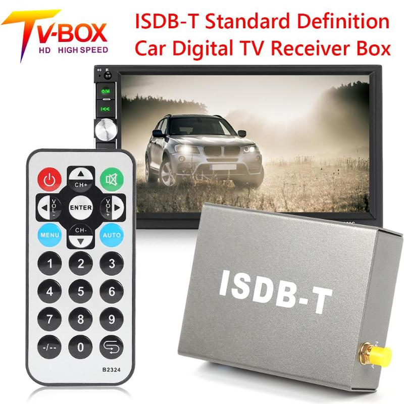 T502 ISDB-T <font><b>Car</b></font> Digital <font><b>TV</b></font> Receiver DTV Box Standard Definition <font><b>TV</b></font> Tuner image