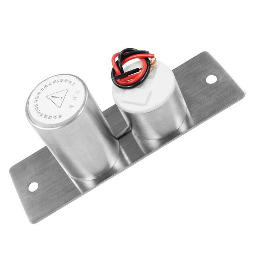 LUCKING DOOR Stainless Steel Mini Electric Bolt Lock DC 12V Solenoid Electric Door Lock Easy to Install