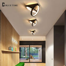 Black&White Led Ceiling Light Aisle Light Corridor Light for Living room Dining room Kitchen Bedroom Modern Ceiling Lamp Fixture