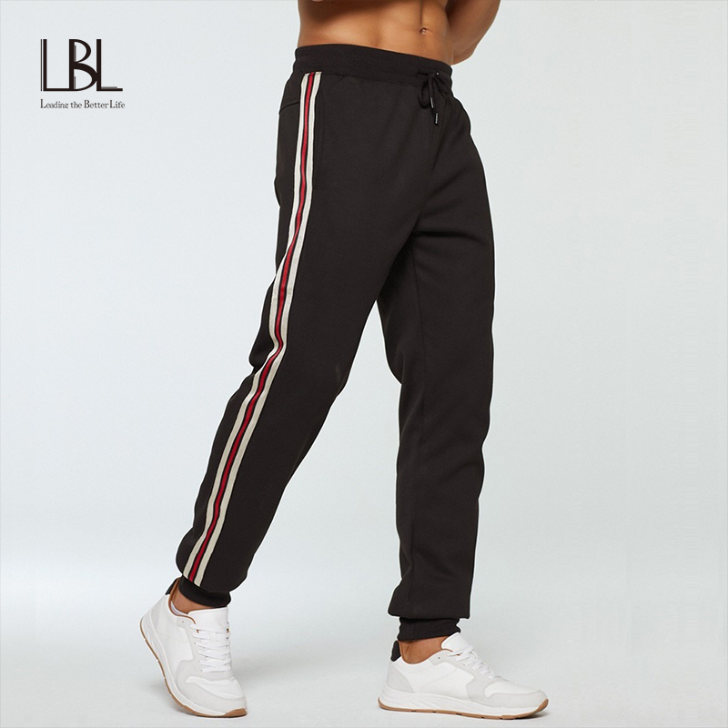 Spring Pants Men Drawstring Sweatpants 2020 Trousers Mens Fashion Joggers Pantalon Homme Harem Pants Man Fashion Long  Pants