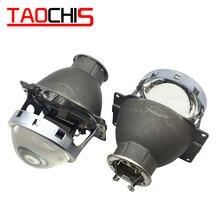 TAOCHIS רכב סטיילינג אוטומטי ראש אור Restyle 3.0 אינץ bi קסנון מקרן עדשת Koito Q5 H7 Retrofit אוניברסלי רכב אור
