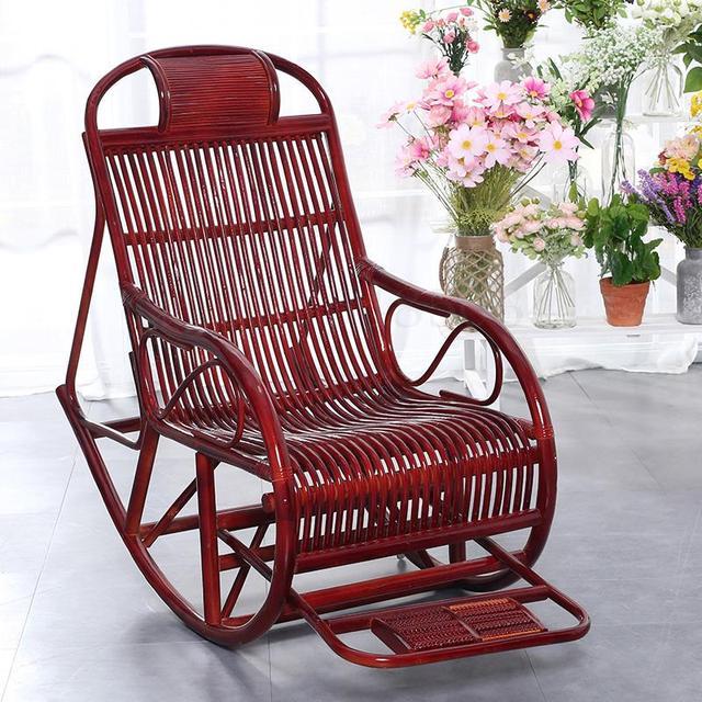 Rattan Rocking Chair  2