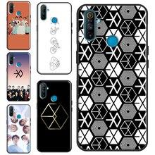 Чехол EXO band k-pop kpop для OnePlus 7T 7 8 Pro Nord для OPPO Reno4 A9 чехол для Realme 6 7 Pro X7 X2 XT C3