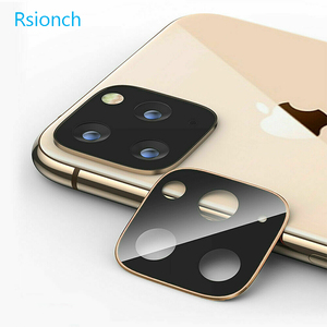 Image 3 - Rsionch Back Camera Lens Screen Protector for NEW iPhone 11 Pro Max 11 Pro 11 Tempered Glass Metal Rear Lens Protection