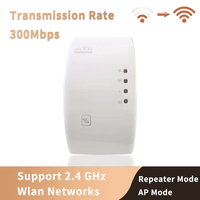 Wireless WiFi Repeater Wifi Extender 300Mbps Wi Fi Amplifier 802.11N/B/G Booster Repetidor Wi fi Reapeter Access Point Routers|Signal Boosters|Cellphones & Telecommunications -