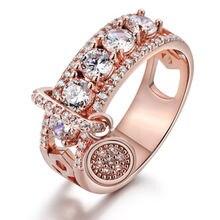 Bettyue сезон прибытие привлекательное обручальное кольцо в