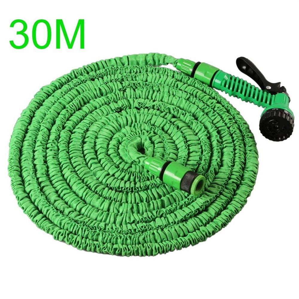 30M Erweiterbar Flexible Garten Schlauch Zu Bewässerung Mit Spray Gun Garten Auto Wasser Rohr Schläuche Bewässerung