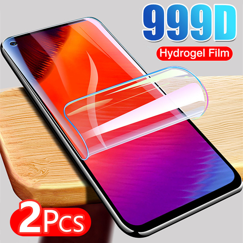 2 шт. Гидрогелевая Защитная пленка для экрана для Samsung Galaxy S7 edge Note 10 20 S10 S20 Plus Ultra On A50 A70 S10E мягкая пленка не стекло