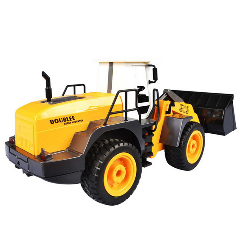 Engineering Vehicle 1 20 RC Bulldozer Toy Simulation Electric Remote Control Construction Truck Brinquedo For Children Xmas Gift in RC Trucks from Toys Hobbies