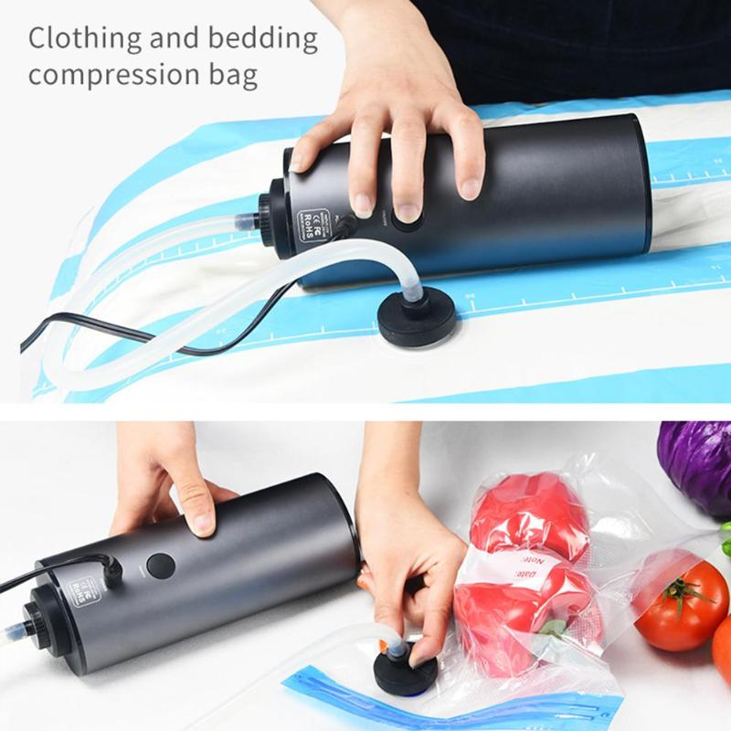 Inflatable Pump Vacuum Sealer Durable Automatic Space Saver Clothes Packaging Machine Kitchen Accessories Necessary Artifacts