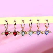Женские серьги из металлического сплава flatfoosie модные подвески