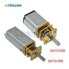 GA13-030 GA13-050 DC Gear Motor 6V/12V 100RPM Speed Reduction Gearbox Motor for RC Toys Patrs Micro Motor