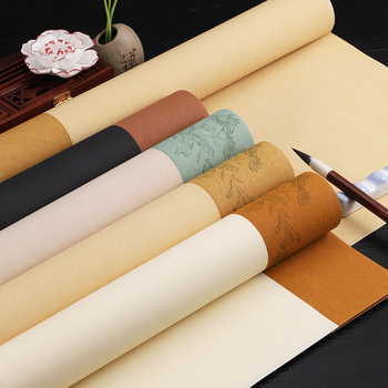 5 Sheets Rijstpapier Chinese Rice Paper Card Half-Ripe Xuan Paper for Retro Calligraphy Painting Hand Made Art Xuan Paper цена 2017