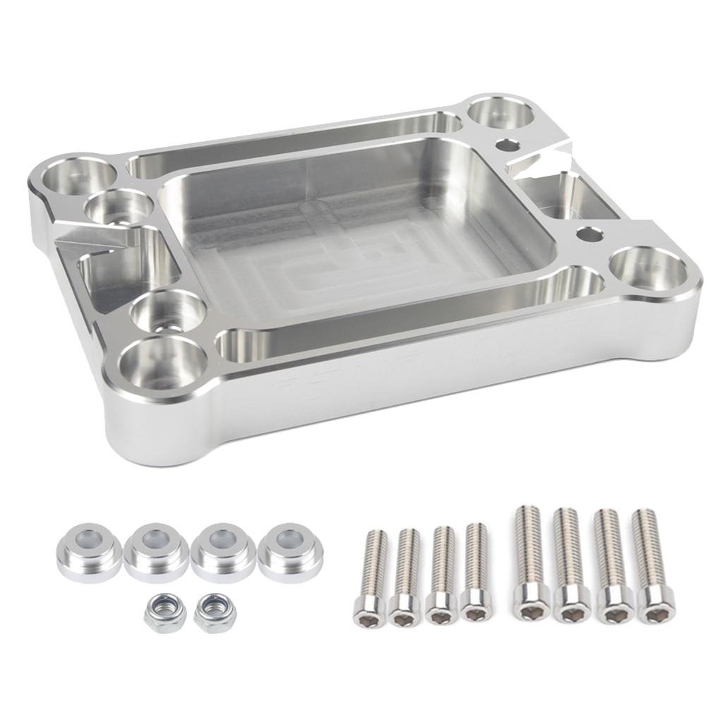 Billet Shifter Base Plate Engine Set Aluminum Car Accessories