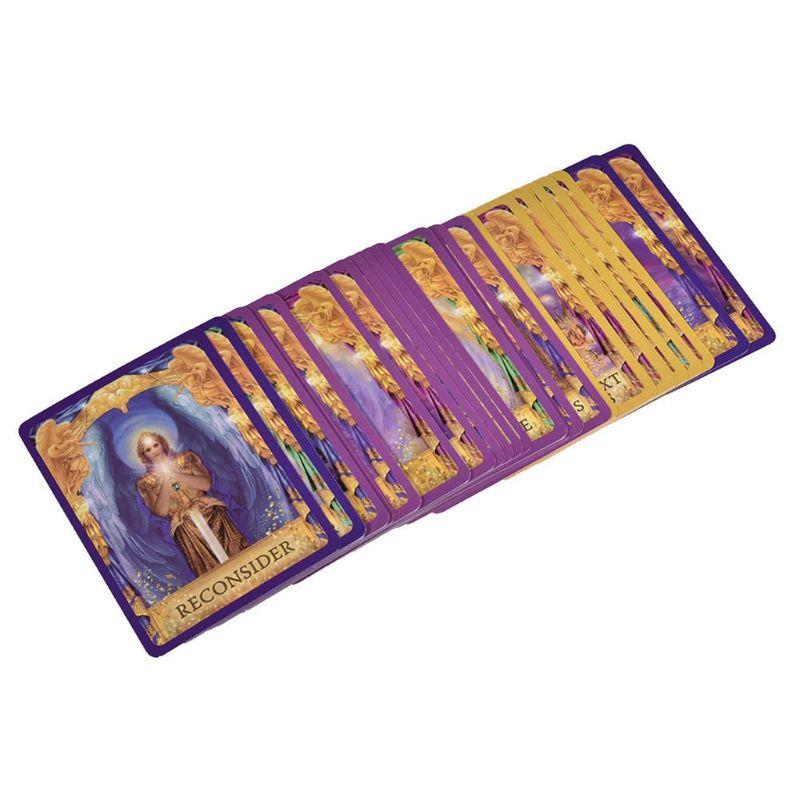 Ангельские ответы Tarot 44 колода карт с изображением оракула полная английская семейная вечеринка для друзей доска M5TC