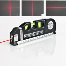 Nível do laser horizonte medida vertical 8ft alinhador padrão e métrica réguas multiuso medida nível laser