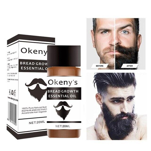 Bearded Growth Fluid Beard Essential Oil Gentle Repair of Hair Follicle Growth Facial Hair Care Solution 1