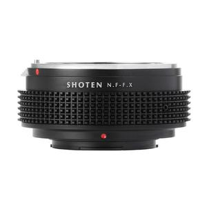 Image 2 - Shoten 렌즈 어댑터 링 nikon f d ai ais to fuji x X T3 X Pro2 X A2 카메라