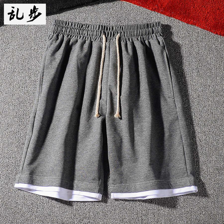 Japanse Koreaanse Heren Shorts Katoen Koord Mens Shorts Solid Casual Hip Hop Bermuda Hombre Zweet Shorts Japan Stijl CC50DK26